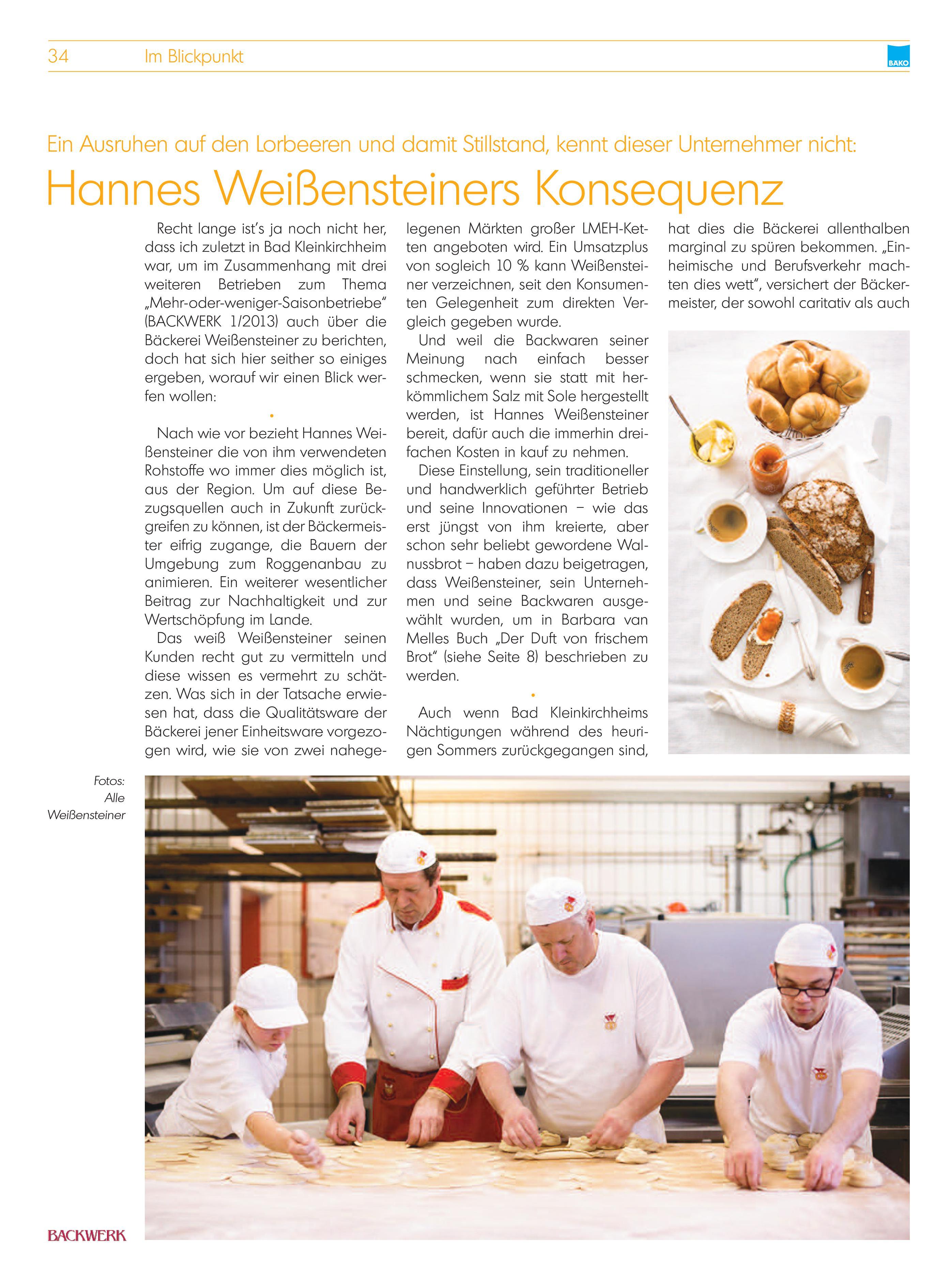 BÄKO Zeitung 2015