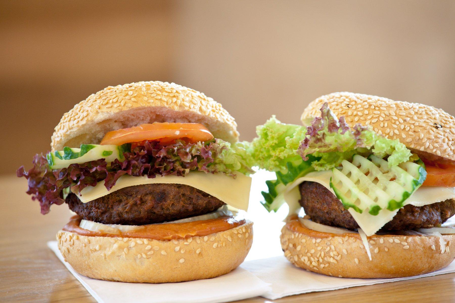 Ein echt-regionaler Weissensteiner-Burger Zutaten, die ausschließlich aus der Region stammen!